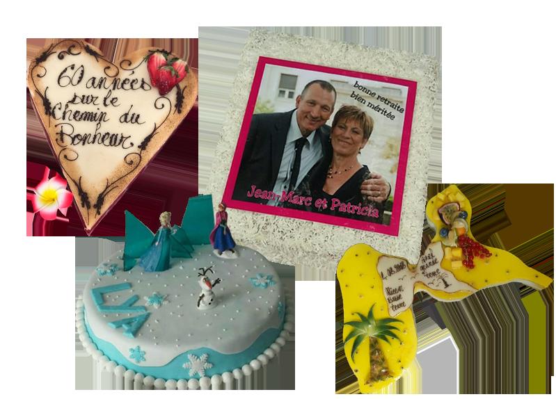 Personnalisation gâteau